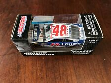 2016 Jimmie Johnson Lowes Patriotic NASCAR Salutes 1:64 scale car Memorial Day