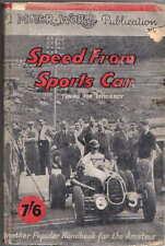 Velocidad de la afinación de coche deportivo para lograr eficiencia cálculo 1950 Motor World Pub.