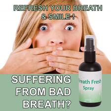 BREATH FRESH BAD BREATH SPRAY SMELL GREAT SUPER STRONG EXTRA FRESH BREATH !