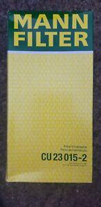 MANN CU23015-2 pollen cabin filter ,BMW,Mini