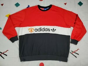 Adidas Manchester United FC 84 Pullover Sweatshirt Sweater Crewneck 2XL