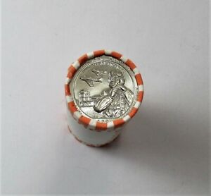1 2021-D 40 Coin Bank Roll Tuskegee Airmen NP Quarters   UnCirculated
