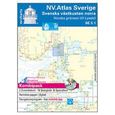NV. Serie 5.1 - Schweden, Norwegen - Lysekil # Skagerrak, Atlas A3 9783945902042