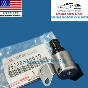 GENUINE TOYOTA LEXUS GS300 IS300 SC400 LS400 TRANSMISSION SOLENOID 35230-30010