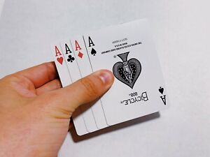 Disappearing Aces By Shin Lim (Gaff Card) Magic Trick
