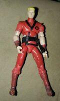 GI JOE COBRA RED NINJA FIGURE 2007 V2 G.I. JOE 25TH ANNIVERSARY 100% COMPLETE