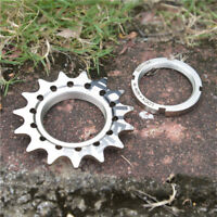 "Fouriers 3/32"" 1/8"" Cog Fixie Fixed Gear Track Single Speed Bike Sprocket Lock"