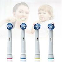 4 Pcs Replacement Electric Toothbrush Brush Heads For Braun Oral B Dual Clean