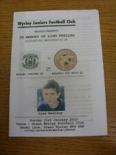 31/01/2010 Wyrley Juniors v Walsall Old Boys [Liam Keeling Memorial] . Thanks fo