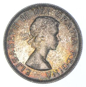Better Date - 1953 Canada 25 Cents - SILVER *300