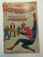 The Amazing Spider-Man #10 (March 1964) poor condition