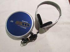 Cd Walkman, Emerson, Portable Compact Disc Player, Model # Hd7998Bl
