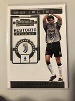 2019-20 Panini Chronicles Soccer Gianluigi Buffon Contenders Historic Ticket