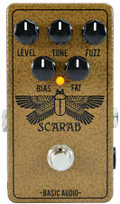 Basic Audio Scarab Deluxe Full Fuzz Electric Guitar Effects Pedal