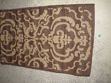 Safavieh Courtyard Collection Indoor Outdoor Chocolate BrownTurkish New