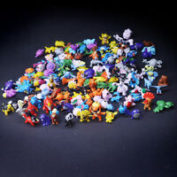 144pcs/Pack Pokemon Toy Set Mini Action Figures Pokémon Go Monster Gift 2-3cm