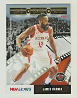 2019-20 Panini Hoops LIGHTS CAMERA ACTION HOLIDAY EDITION JAMES HARDEN Rockets