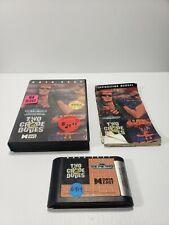 Two Crude Dudes - Sega Genesis, 1991 - Complete