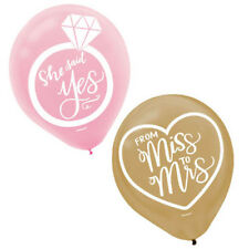 Wedding And Bridal Mint to Be Latex Balloons (15) ~ Party Shower Supplies Floral