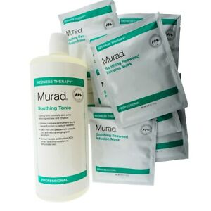 Murad Redness Therapy Soothing Tonic + 15 pieces Seaweed Infusion Mask, NEW