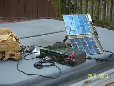 SUPER RARE 1980's THOMSON-CSF MILITARY SOLAR PANNEL CHARGER FOR RADIO EQUIPMENT