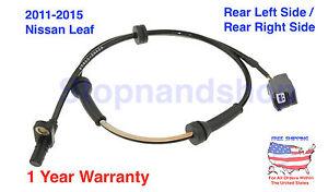 New ABS Wheel Speed Sensor fits 2011-2015 Nissan Leaf Rear Driver Passenger Side