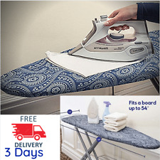 Large Boards Silicon Ironing Grip Cover Resists Reflective Scorching Staining