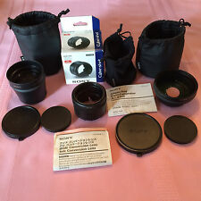 SONY Lens Bundle for SONY DSC H20 camera: VADHA, VCL DH1758,VCL DH0758 & M3358