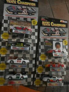 #2, 5, 23, 33, 52, 66 Short Track Camaro Racing Set, 1994 Racing Champions 1/64.