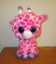 "Beanie Boo plush TWIGS 9"" Giraffe stuffed animal pink TY 2014"