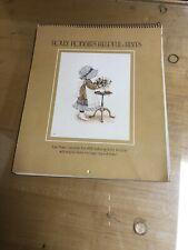 1978 Holly Hobbies Helpful Hints Vintage Holly Hobbie Calendar New