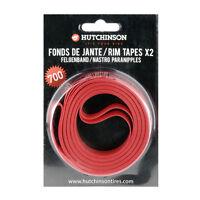 Hutchinson 700 x 20 Road Bike Rim Tapes x 2 | Fixie Bicycle Wheel Strips