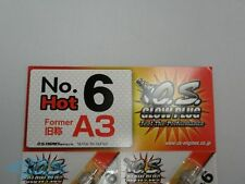 O.S. Glow Plug Type No.6 (former A3) Hot Long-Lasting 10-.60 2-Strokes CA 1pcs