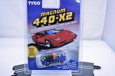 TYCO MAGNUM 440-X2 SLOT CARS  1/EA 9064 TEST DUMMY CAR MINATA