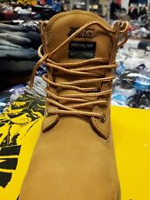 """Waterproof boots mens Leather size 12 Constaction , Insolated.  6"""" Lace Up"""