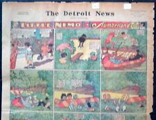 LITTLE NEMO SUNDAY Color Strip 6/13/1926 WINSOR McCAY Little Nemo in Slumberland