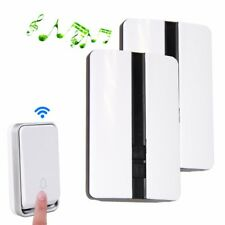 Wireless Remote Control Digital Doorbell 1 Drag 2 Anti-rain No Battery Required