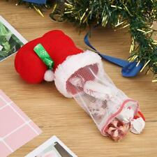Cute Candy Holder Bags Boot Christmas Home New Year Xmas Party Stocking Gifts