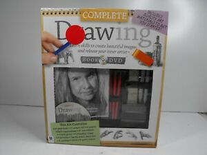 Complete Drawing Book and DVD by Hinkler NEW SEALED