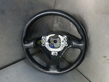 Audi TT 8N 01-06 MK1 225 Quattro black leather steering wheel 8N0419091B 162