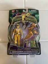 Yellow Ranger Bandai Mighty Morphin Power Rangers Action Figure 2010 - NEW