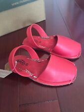 BNIB Girls Red Riudavets Shoes Sandals SIZE 29