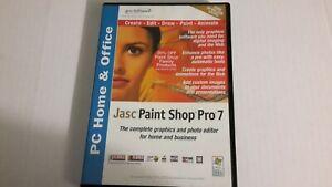 JASC PAINT SHOP PRO 7 SOFTWARE