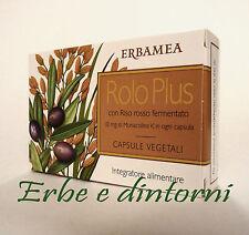 ROLO PLUS   24 capsule  con Riso rosso fermentato, monacolina K, colesterolo