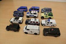 Konvolut 12x Police Polizei Jeep Hummer Ford majorette tomica Matchbox Patina