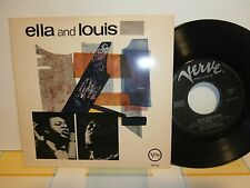 "Ella Fitzgerald,Louis Armstrong""Ella And Louis""ep7""or.ger.verve:26136 de 56"