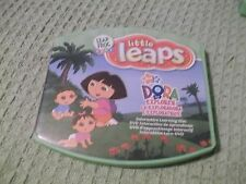 Leap Frog baby little leaps Dora the Explorer interactive learning disc