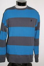VOLCOM Mens Large L Striped Sweatshirt Combine ship Discounts