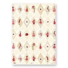 NEU*SILKE LEFFLER*Geschenkpapier 50 x 70cm*Rose Garden *