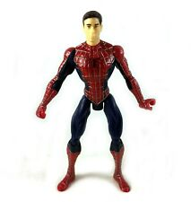 "Peter Parker Unmasked Vintage Marvel Spiderman 3 Movie 5"" Action Figure 2007"